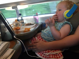 Toddler Train Travel Tips