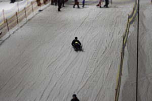 Sledging at Snow Factor Braehead