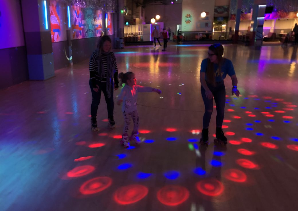 Rollerstop Roller Disco - Glasgow With Kids
