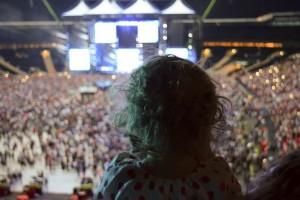 Ed Sheeran gig with a toddler