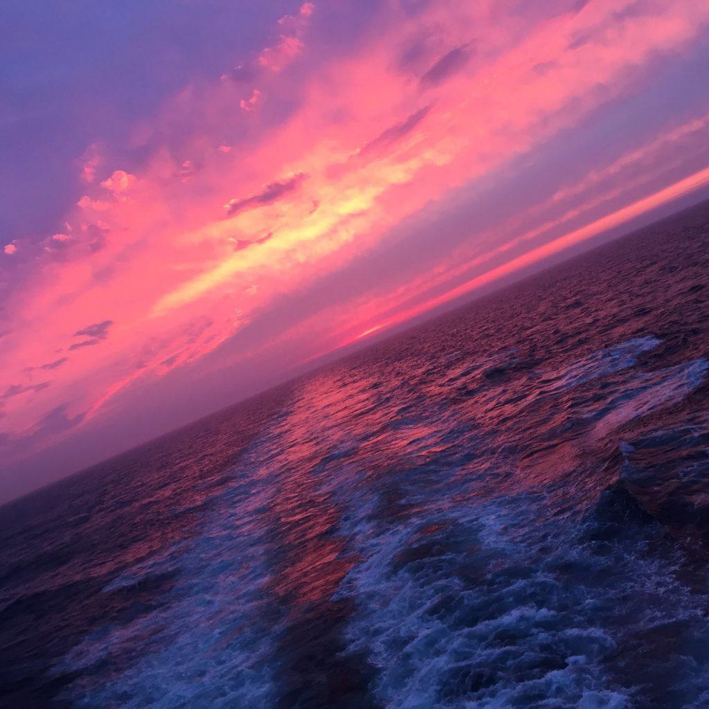 newcastle-amsterdam-ferry-sunset