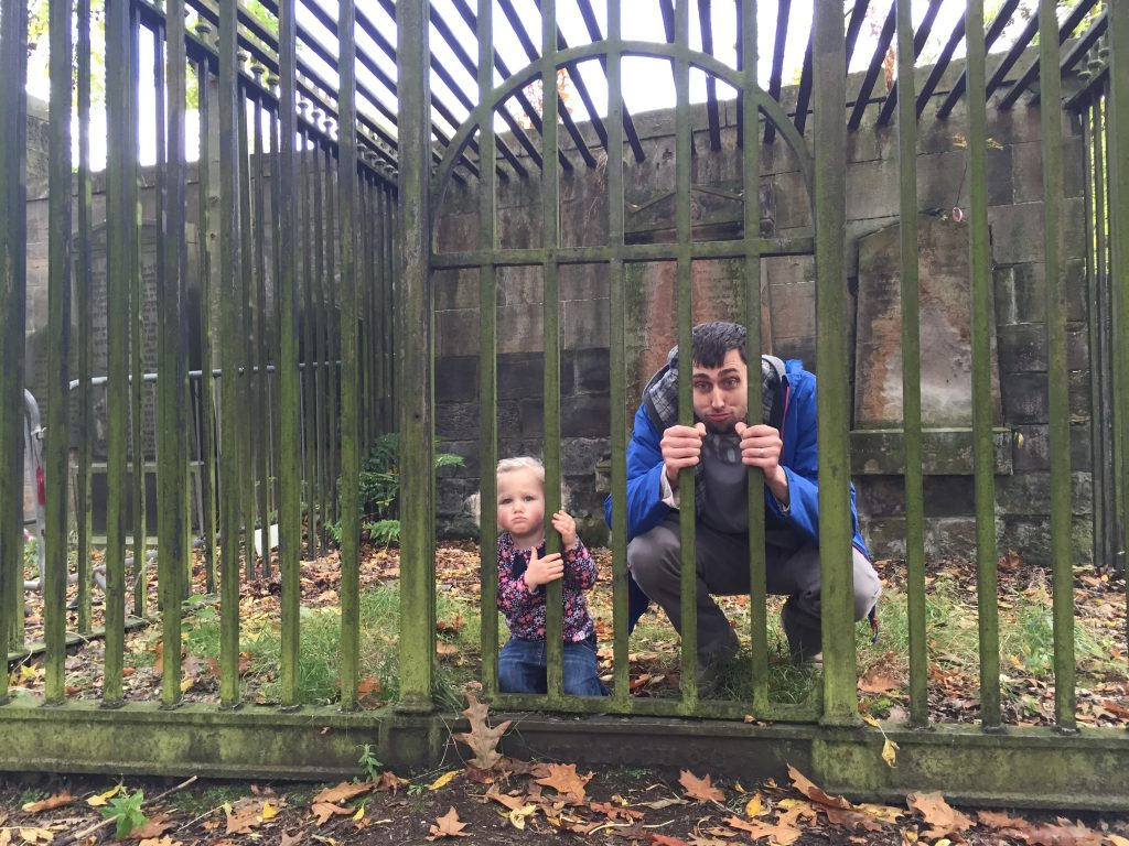 visiting glasgow cathedral with kids