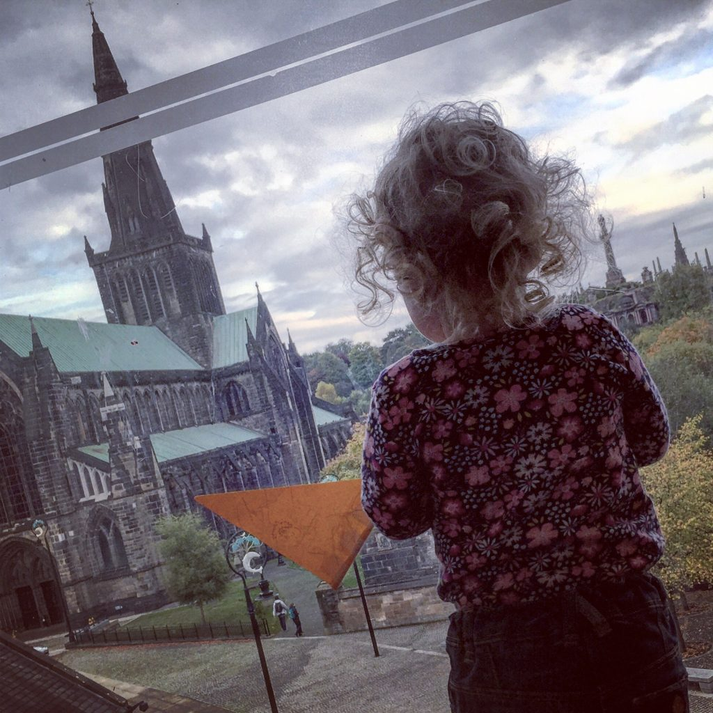glasgow cathedral from st mungo museum