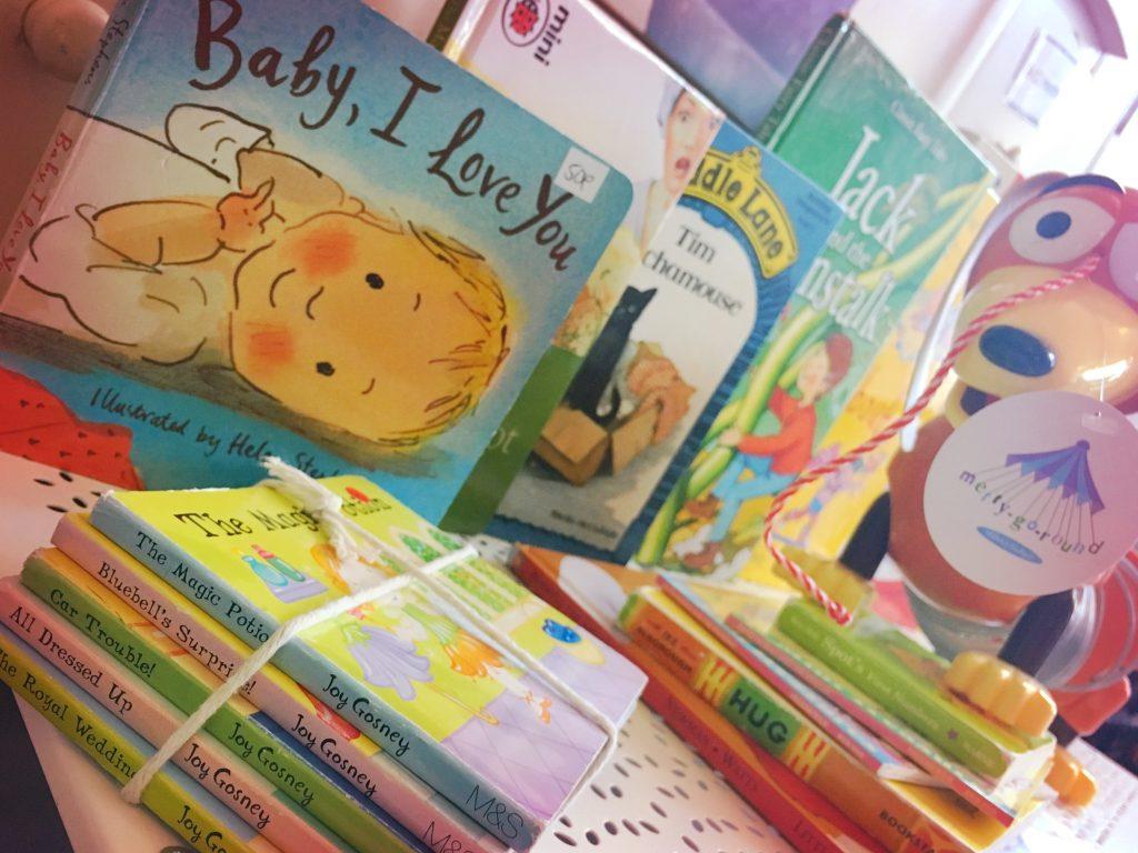 merry-go-round-briggait-sale-books